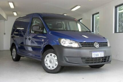 2012 Volkswagen Caddy 2KN MY12 TDI250 Maxi Blue 5 Speed Manual Van Melville Melville Area Preview