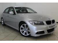 2009 59 BMW 3 SERIES 2.0 318D M SPORT 4DR AUTOMATIC 141 BHP DIESEL