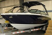 2015 Monterey Boats 218SS Wake Tower & Trailer