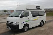 2013 Toyota Hiace TRH221R MY12 High Roof Super LWB White 4 Speed Automatic Van Invermay Launceston Area Preview