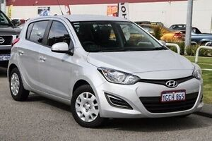 2015 Hyundai i20 PB MY15 Active Silver 4 Speed Automatic Hatchback East Rockingham Rockingham Area Preview
