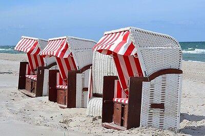 Immer eine frische Brise um die Nase – und wenn es zu viel wird: Ab in den Strandkorb!