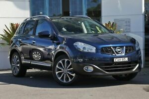 2010 Nissan Dualis J10 MY2009 Ti X-tronic AWD Blue 6 Speed Constant Variable Hatchback