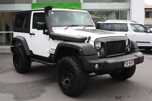 2015 Jeep Wrangler JK MY2015 Sport White 5 Speed Automatic Softtop Mount Gravatt Brisbane South East Preview