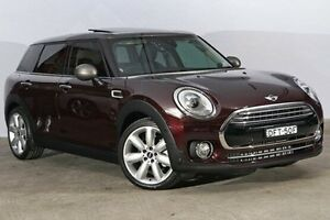 2016 Mini Clubman F54 Cooper Steptronic Pure Burgundy 6 Speed Sports Automatic Wagon Alexandria Inner Sydney Preview