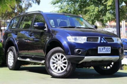 2012 Mitsubishi Challenger PB (KH) MY12 LS Blue 5 Speed Sports Automatic Wagon