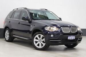 2007 BMW X5 E70 4.8I Blue 6 Speed Steptronic Wagon Bentley Canning Area Preview