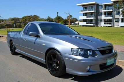 2005 Ford Falcon BA Mk II XR8 Ute Super Cab Grey 6 Speed Manual Utility Somerton Park Holdfast Bay Preview