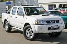 2012 Nissan Navara D22 S5 ST-R White 5 Speed Manual Utility Myaree Melville Area Preview