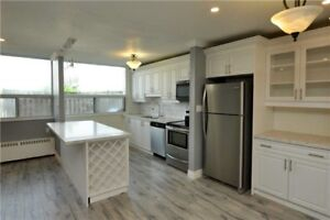 Newly Renovated Open Concept Three Bedroom Condo Apartment.!