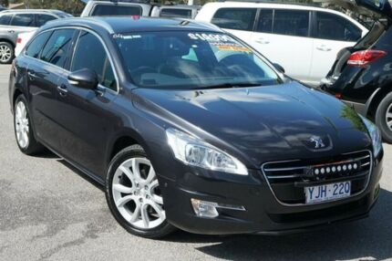 2012 Peugeot 508 Allure Touring Grey 6 Speed Sports Automatic Wagon