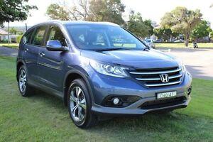 2013 Honda CR-V RM MY14 VTi-L 4WD Blue 5 Speed Sports Automatic Wagon Hamilton East Newcastle Area Preview