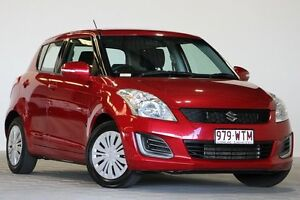 2015 Suzuki Swift FZ MY14 GL Red 4 Speed Automatic Hatchback Coopers Plains Brisbane South West Preview