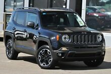 2016 Jeep Renegade BU Trailhawk Carbon Black 9 Speed Automatic Wagon North Curl Curl Manly Area Preview