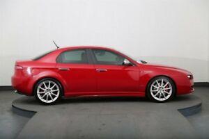 2009 Alfa Romeo 159 1.9 JTD Red 6 Speed Automatic Sedan