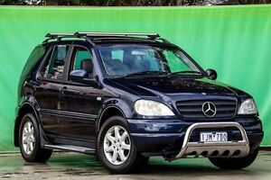 2001 Mercedes-Benz ML430 W163 Luxury Blue 5 Speed Sports Automatic Wagon Ringwood East Maroondah Area Preview