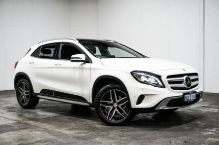 2016 Mercedes-Benz GLA180 X156 806MY DCT White 7 Speed Sports Automatic Dual Clutch Wagon Welshpool Canning Area Preview