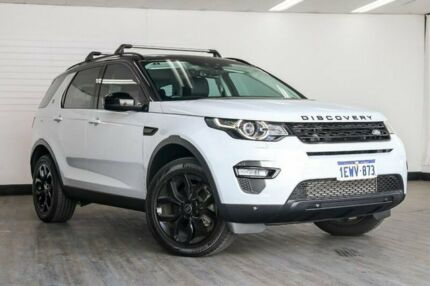 2015 Land Rover Discovery Sport L550 16MY Si4 SE White 9 Speed Sports Automatic Wagon Victoria Park Victoria Park Area Preview