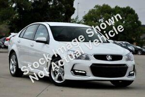 2016 Holden Commodore VF II SV6 Heron White 6 Speed Automatic Sedan Greenfields Mandurah Area Preview