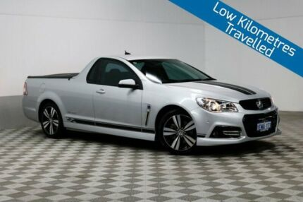 2014 Holden Ute VF SS Storm Silver 6 Speed Automatic Utility