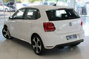 2013 Volkswagen Polo 6R MY14 GTI DSG White 7 Speed Sports Automatic Dual Clutch Hatchback Doveton Casey Area Preview