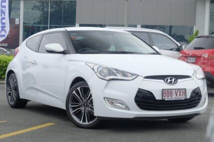 2015 Hyundai Veloster FS4 Series II Coupe D-CT White 6 Speed Sports Automatic Dual Clutch Hatchback