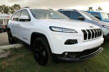 2015 Jeep Cherokee KL MY15 Blackhawk White 9 Speed Auto Seq Sportshift Wagon Mount Gravatt Brisbane South East Preview