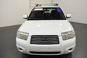 2006 Subaru Forester MY06 XT White 5 Speed Manual Wagon Moorabbin Kingston Area Preview