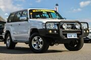 2012 Nissan Patrol Y61 GU 8 ST Polar White 4 Speed Automatic Wagon Cannington Canning Area Preview