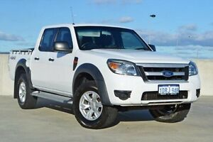 2011 Ford Ranger PK XL Crew Cab White 5 Speed Automatic Utility Midland Swan Area Preview