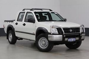 2007 Holden Rodeo RA MY07 LX (4x4) White 4 Speed Automatic Crew Cab P/Up Bentley Canning Area Preview