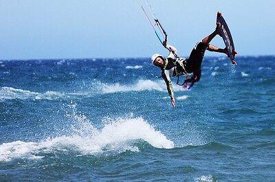 Ein Paradies für Kitesufer ist die windige Ostsee.