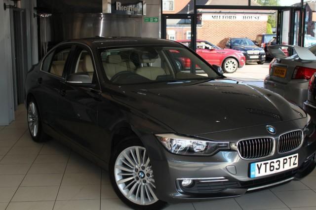 2013 63 BMW 3 SERIES 2.0 320D XDRIVE LUXURY 4D AUTO 181 BHP DIESEL