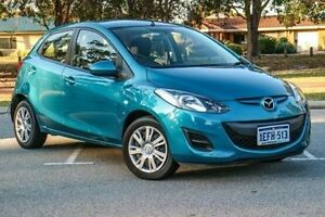 2013 Mazda 2 DE10Y2 MY13 Neo Aquatic Blue 4 Speed Automatic Hatchback Wilson Canning Area Preview