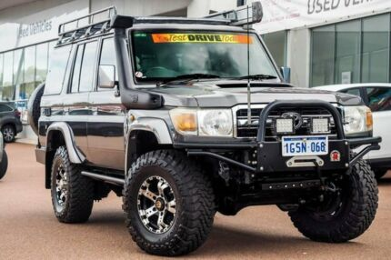 2012 Toyota Landcruiser VDJ76R MY10 GXL Graphite 5 Speed Manual Wagon Wangara Wanneroo Area Preview