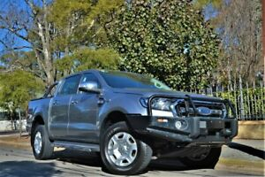 2016 Ford Ranger PX MkII XLT Double Cab Silver 6 Speed Manual Utility Hyde Park Unley Area Preview