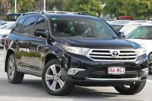 2012 Toyota Kluger GSU45R MY12 KX-S AWD Black 5 Speed Sports Automatic Wagon Toowong Brisbane North West Preview