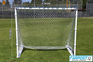 SharpShooter 4×8, 4×6 Metal Portable Soccer Goals