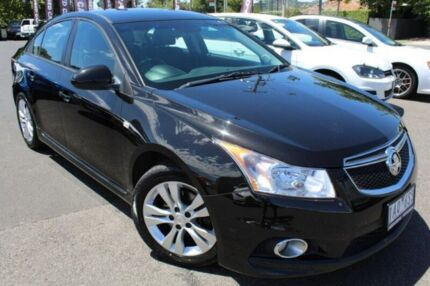 2013 Holden Cruze Black Sports Automatic Sedan Heidelberg Heights Banyule Area Preview