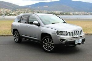 2014 Jeep Compass MK MY15 Limited CVT Auto Stick Silver 6 Speed Constant Variable Wagon Invermay Launceston Area Preview