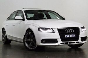 2009 Audi A4 B8 8K Tiptronic Quattro White 6 Speed Sports Automatic Sedan South Melbourne Port Phillip Preview