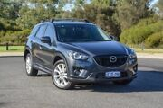 2013 Mazda CX-5 KE1021 MY13 Akera SKYACTIV-Drive AWD Grey 6 Speed Sports Automatic Wagon Wilson Canning Area Preview