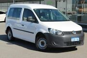 2011 Volkswagen Caddy 2KN MY11 TDI250 SWB DSG White 7 Speed Sports Automatic Dual Clutch Van Osborne Park Stirling Area Preview