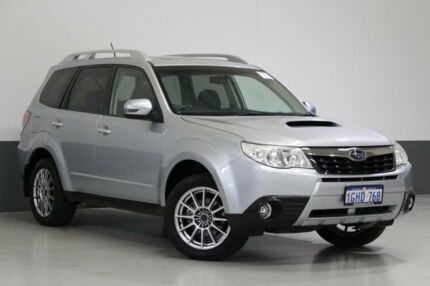 2012 Subaru Forester MY12 S-Edition Silver 5 Speed Auto Elec Sportshift Wagon Bentley Canning Area Preview