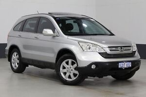 2007 Honda CR-V MY07 (4x4) Luxury Silver 5 Speed Automatic Wagon Bentley Canning Area Preview