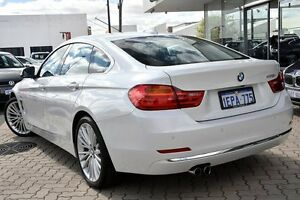 2014 BMW 428i F36 Luxury Line Gran Coupe White 8 Speed Sports Automatic Hatchback Victoria Park Victoria Park Area Preview