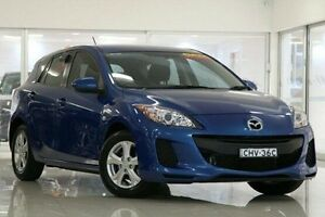 2012 Mazda 3 BL10F2 MY13 Neo Activematic Blue 5 Speed Sports Automatic Hatchback Waitara Hornsby Area Preview