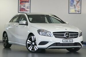 2013 Mercedes-Benz A200 W176 D-CT White 7 Speed Sports Automatic Dual Clutch Hatchback North Willoughby Willoughby Area Preview