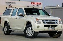 2012 Isuzu D-MAX MY11 LS High Ride White 4 Speed Automatic Utility Pakenham Cardinia Area Preview