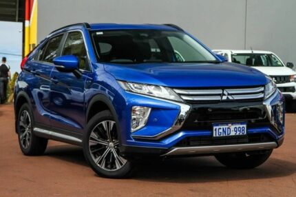 2018 Mitsubishi Eclipse Cross YA MY18 LS 2WD Blue 8 Speed Constant Variable Wagon Cannington Canning Area Preview